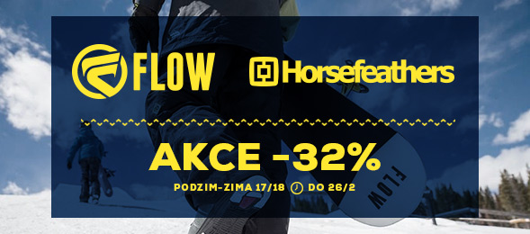 Akce Flow a Horsefeathers -32 %