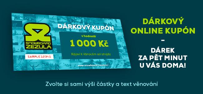 Online dárkový kupón