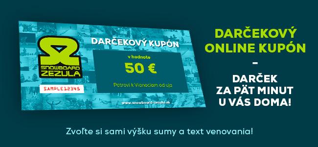 Online darčekový kupón