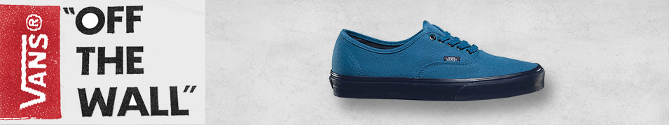Legendární boty Vans Authentic
