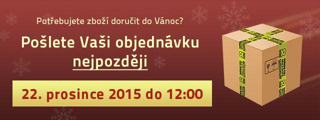 Deadline pro doručení do Vánoc