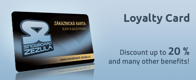 Loyalty Card Snowboard Zezula